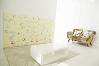 FunnyLon DIY PE 軟墊牆紙, 棉花糖【益智玩具】