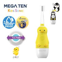 Vivatec 360度 MEGA TEN牙刷, 小童聲波電動牙刷, 小鴨子【個人嬰兒用品】