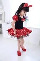 Minnie Mouse 米妮造型女童芭蕾舞蹈裙 D108C [小童派對服裝]