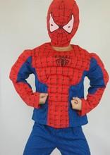 派對 萬聖節服 漫威漫畫 蜘蛛俠 肌肉造型服 C2029 [小童派對服裝]
