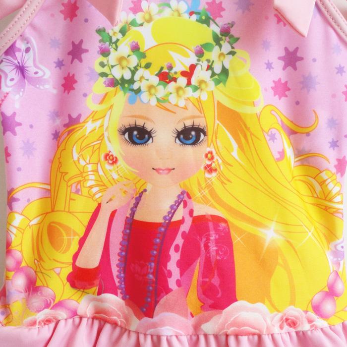[按卡通人物] 未分类 原单正品 超可爱公主女童泳裤 #855b
