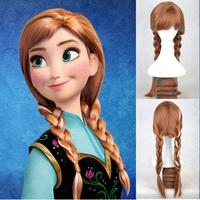 Disney Frozen Queen 冰雪奇緣 迪士尼公主 安娜公主 Anna 造型cosplay假髮 [小童派對服裝]