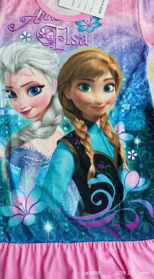 冰雪奇缘 disney frozen queen 迪士尼公主 爱莎 elsa 安娜 anna 女童