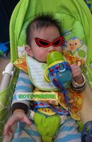 Sesame Street 芝麻街 嬰兒bb奶樽學習杯防掉帶