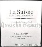 La Suisse 純維C美白更生蠶絲面膜 - 6片盒裝