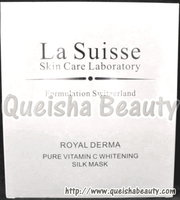 La Suisse 純維C美白更生蠶絲面膜 - 單片試用裝