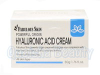 Fabulous Skin 透明質酸保濕鎖水面霜 Powerful Origin Hyaluronic Acid Cream 50g